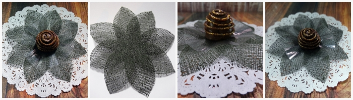 Forminhas folhagem de tela