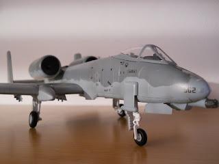 A-10 Thunderbolt II diecast