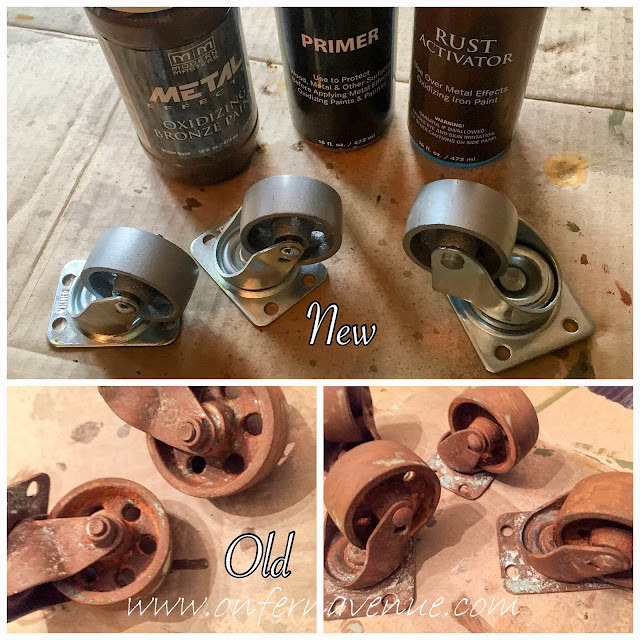 Fern Avenue Blog New Casters made to look old