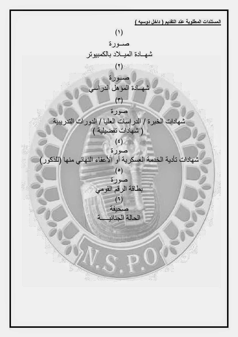 وظائف جهاز مشروعات الخدمة الوطنية للقوات المسلحة