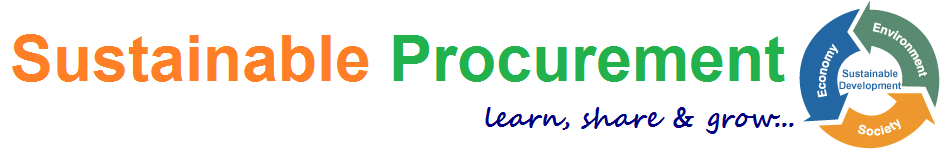 Sanjay's Blog on Sustainable Procurement