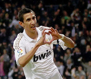 Di Maria scored the third Real Madrid goal against Villarreal