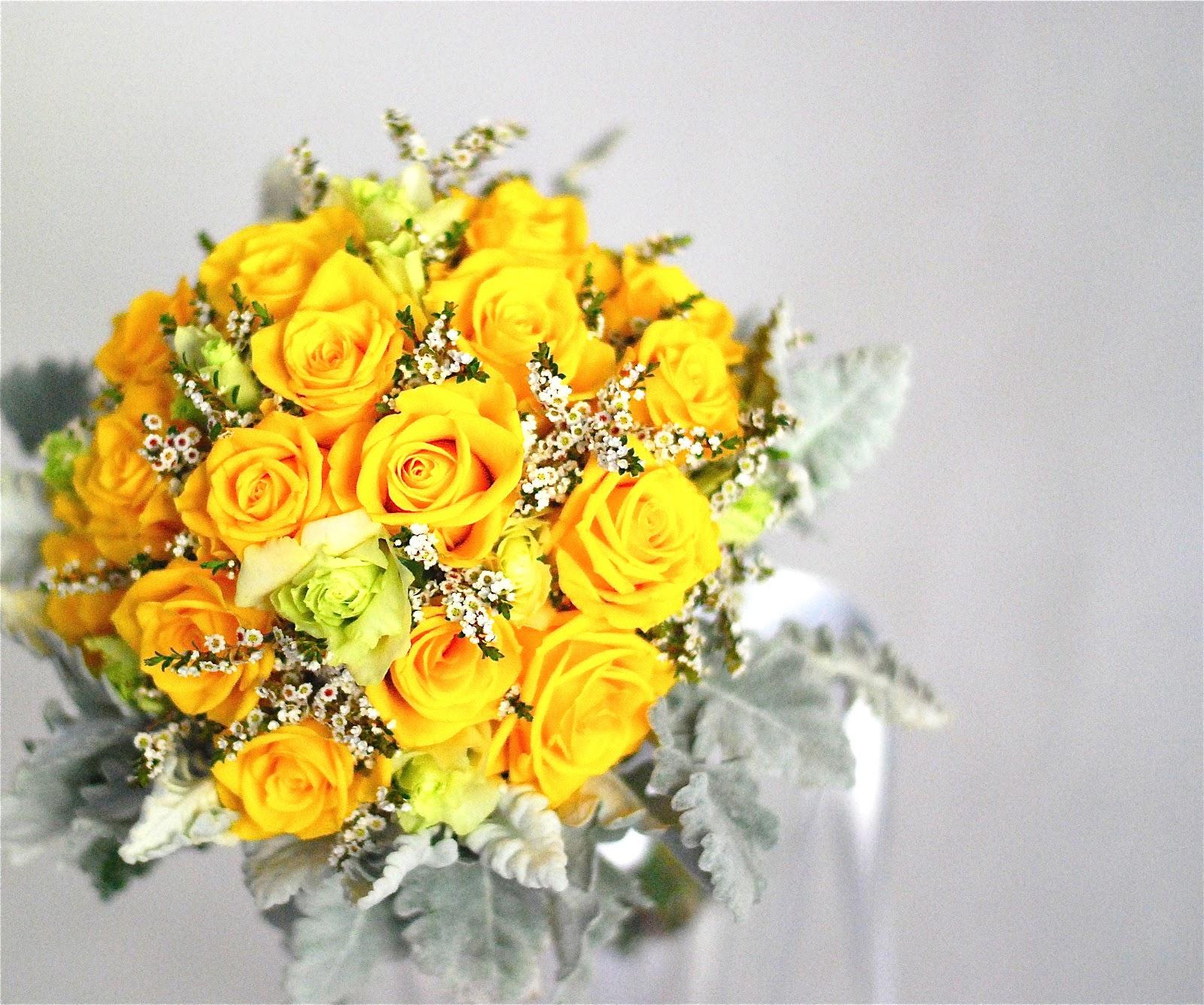 Составление букетов из живых цветов 57