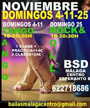 DOMINGOS NOVIEMBRE 4-11-25, EN BSD BAILAS MÁLAGA CENTRO.