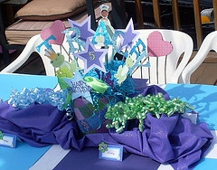 Children Parties, Disney Princess Decoration Centerpieces