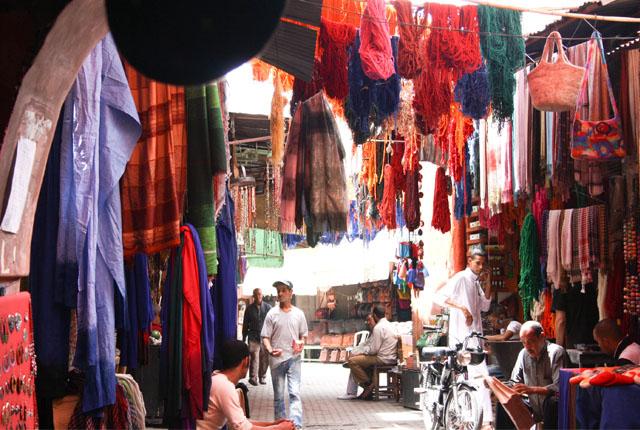 souk des teinturiers Marrakech