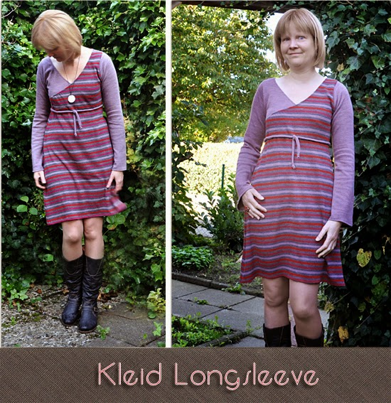 Kleid Longsleeve by Allerlieblichst