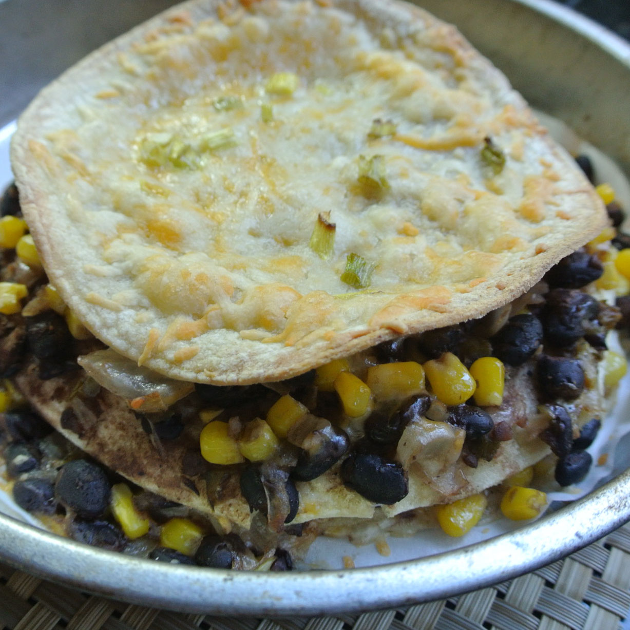 free tortilla and black bean pie adapted from martha stewart 12 corn ...
