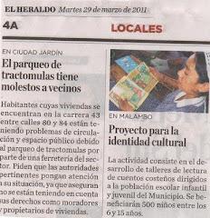 NOTICIA PUBLICADA EN EL HERALDO