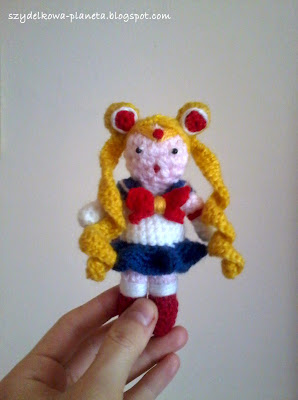 szydelkowa sailor moon