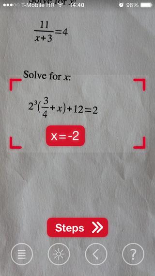 كيف يمكنك حل المعادلات المعقدة بتصوريها فقط عبر هاتفك مع تطبيق PhotoMath