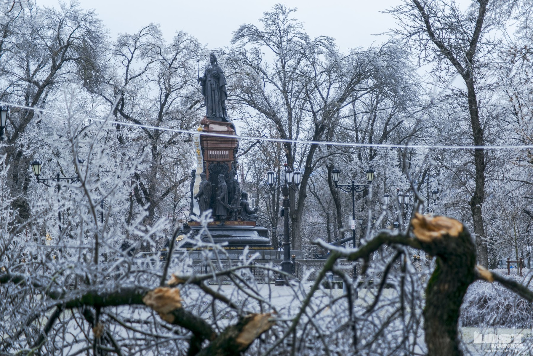 Зима в Крансодаре