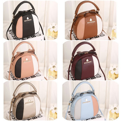 JESSICA MINKOFF BAG - BLACK , BROWN, GOLD , MAROON , PEACH , SKY BLUE