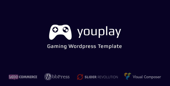 Downlaod Youplay - Gaming Wordpress theme
