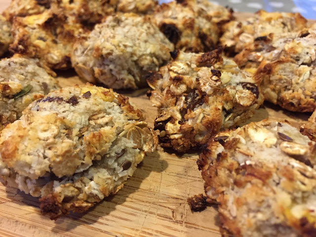 Cookies santé 3 ingrédients : Muesli Coco Banane