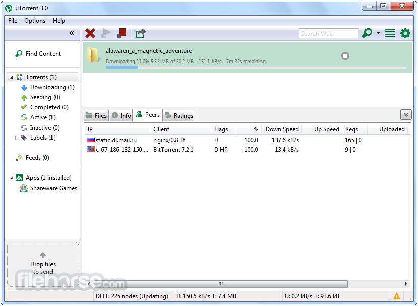 Free Utorrent Optimise Download 3.4.3