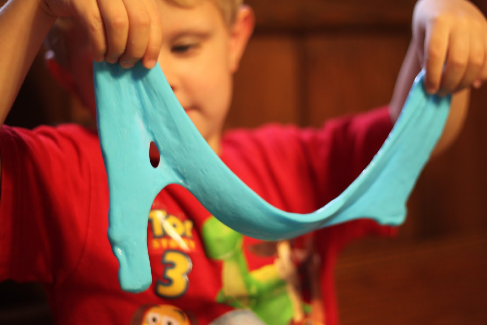 how to make blu tack slime instructions