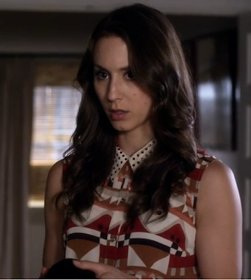 "Spencer's Viva Vena! By Vena Cava Quickstop Shirtdress with Cutout Back Pretty Little Liars Season 4, Episode 12: ""Now You See Me, Now You Don't"""