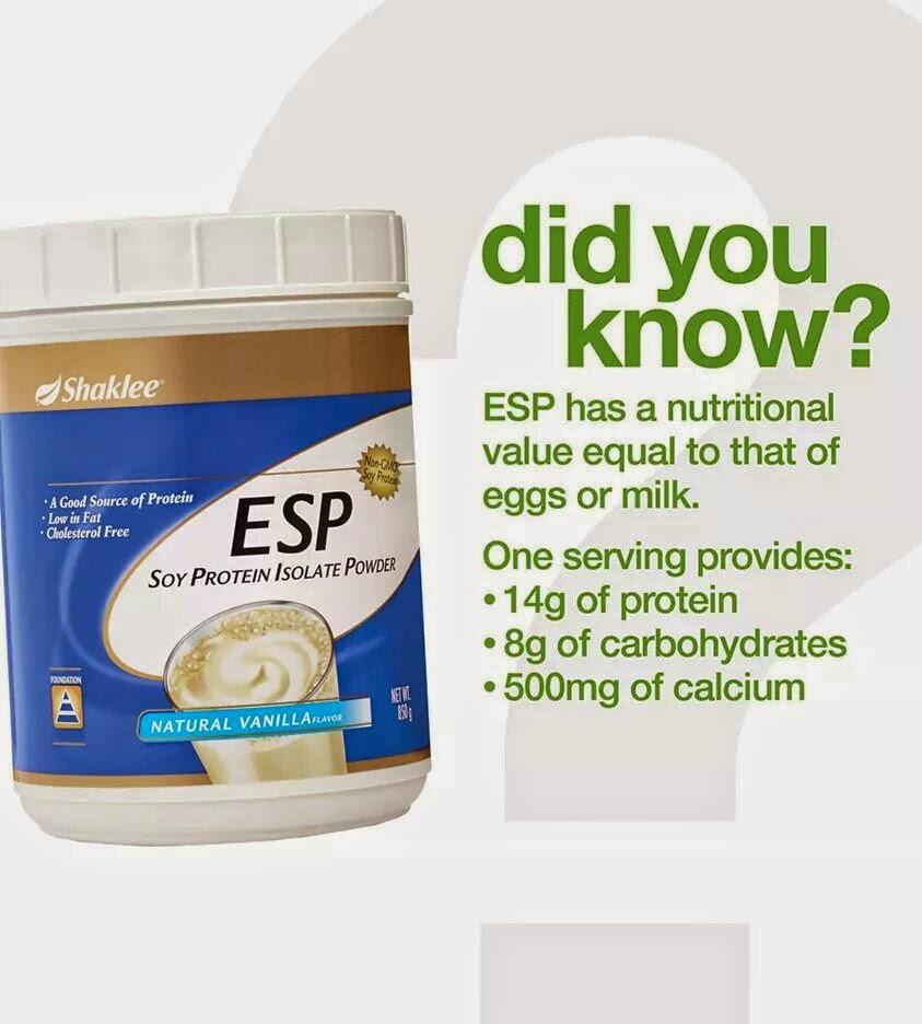 Protein dan Manfaatnya, esp shaklee, makanan sumber protein