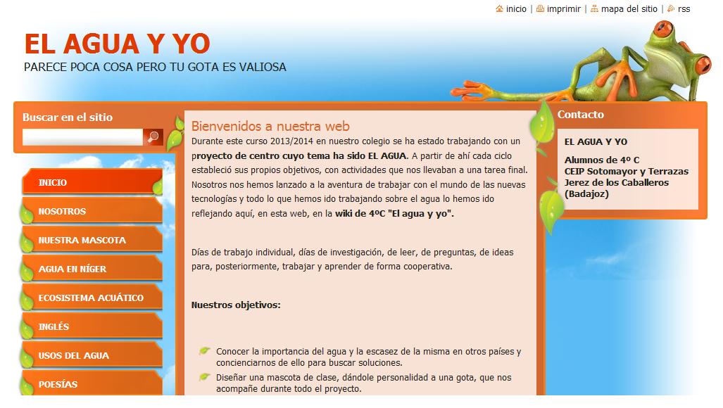 http://el-agua-y-yo.webnode.es/