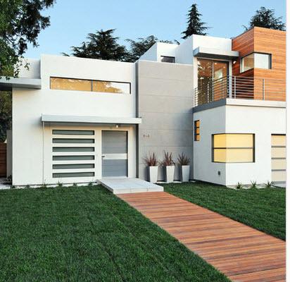 Fachadas de casas modernas todo para dise ar una hermosa for Colores de fachadas de casas modernas