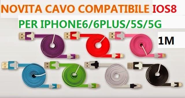 CAVO IOS8 IPHONE