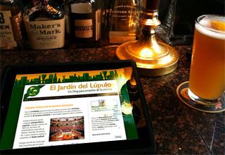 El jard n del l pulo web especializada en cerveza como for El jardin del lupulo