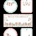 Free Printable Christmas Tags and Labels.