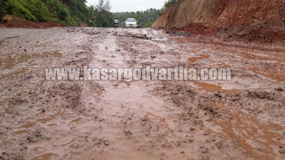 Road, Damage, State highway, Kanhangad, Chandragiri, Panathur, Kasaragod