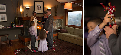 Family Wedding Ceremony - Patricia Stimac, Seattle Wedding Officiant