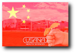 My USANA China