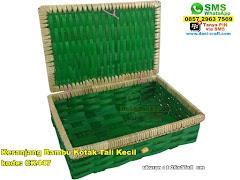 Keranjang Bambu Kotak Tali Kecil