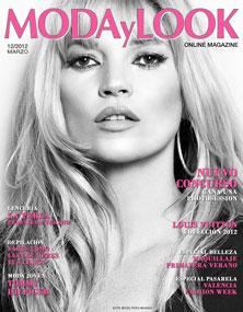 moda y look, revista, portada, marzo, 2012, maquillaje, peluqueria, estilo, blanco y negro, rosa, online, magazine