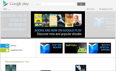 Google Play Books on Web
