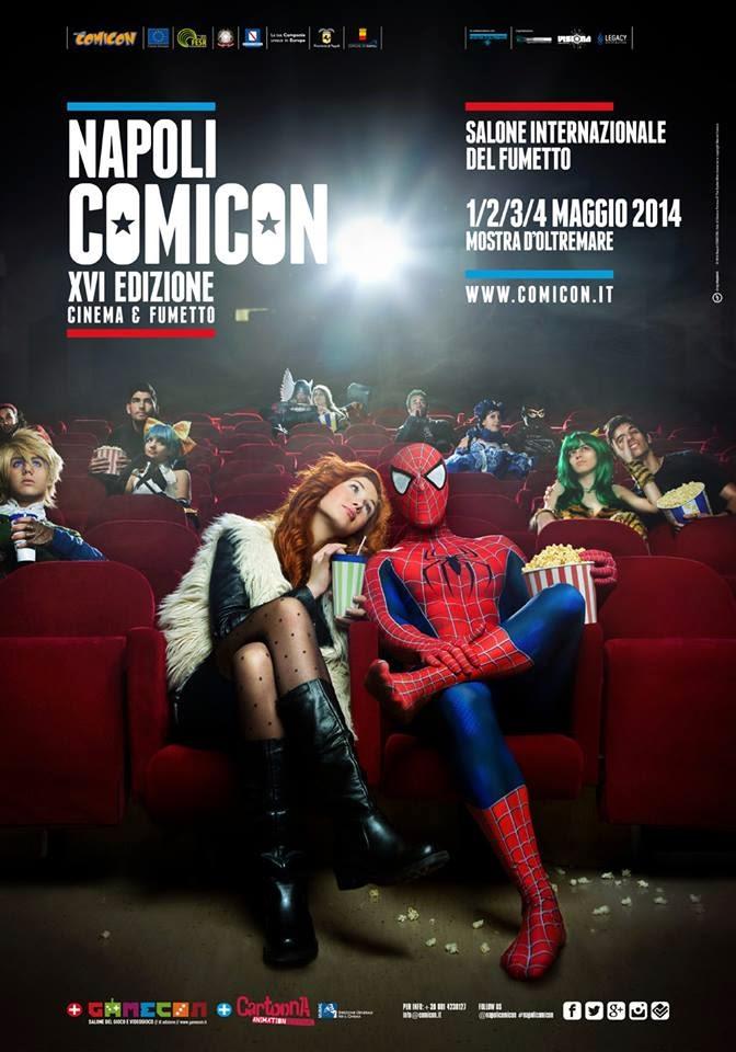 Comicon Napoli 2014 poster