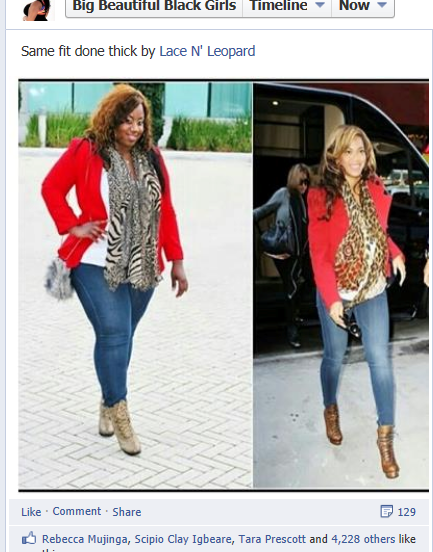 lace n leopard same fit done thick