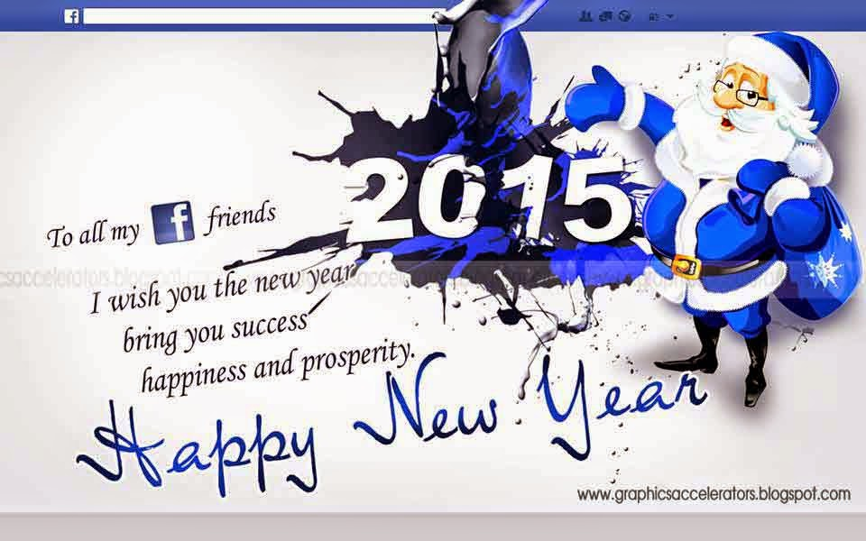 Happy new year my facebook friends