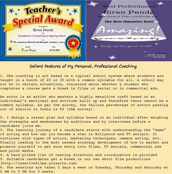 Great Awards Great Coaching!
