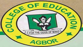 College of Education Agbor Post UTME Form is Out