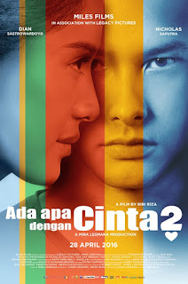 Download Movies Ada Apa Dengan Cinta 2 (2016) BluRay 360p Subtitle Bahasa Indonesia - stitchingbelle.com