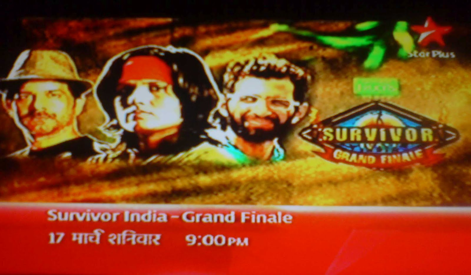 of Survivor India in the Grand Finale of Survivor India on Star Plus