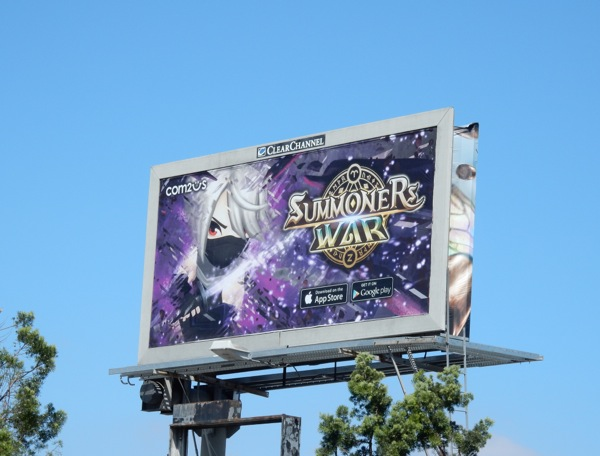 Summoners War billboard