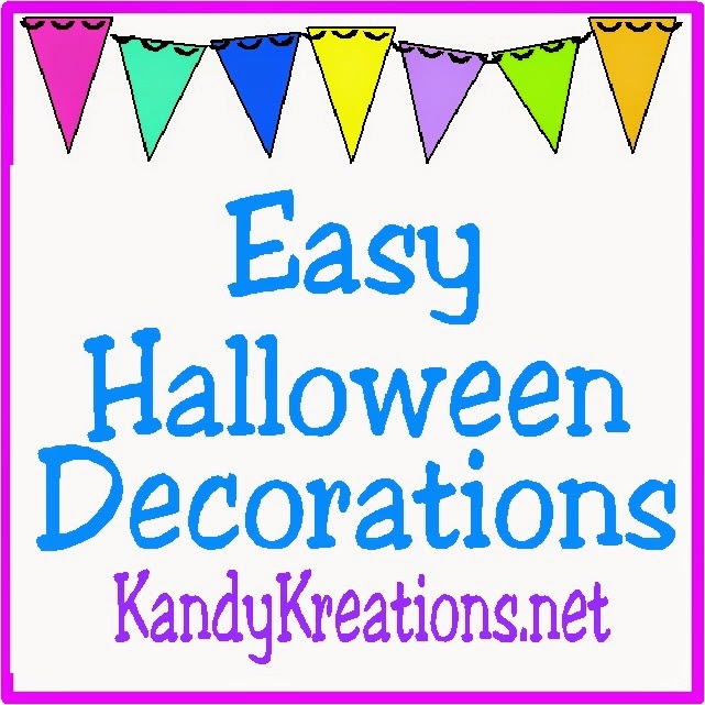 5 easy halloween decorations and dare to share everyday for Halloween decorations you can make at home