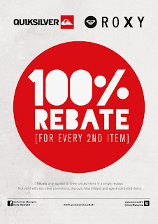 Buy any regular priced item and get a 100% rebate on your second item