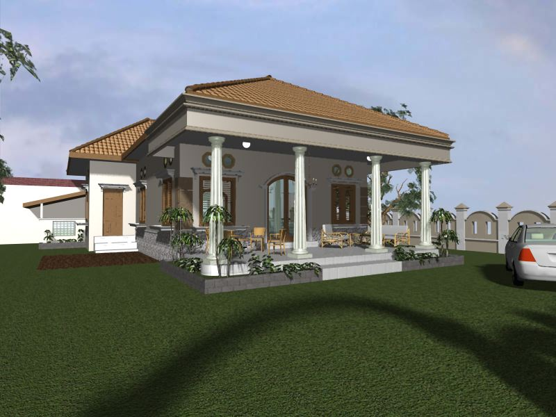 Griyaaku Desain Rumah Kolonial Jawa