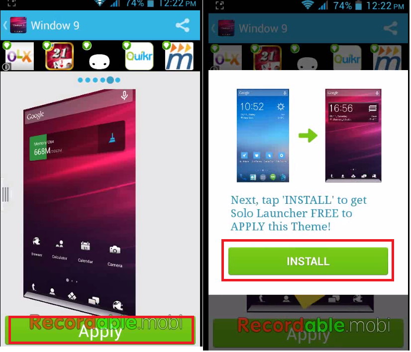 Windows 9 Theme for Android Phone How to Install & Use