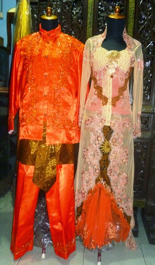 Foto Model Baju Kebaya Pengantin Sepasang