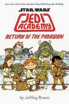 bookcover of RETURN OF THE PADAWAN  (Jedi Academy #2)  by Jeffrey Brown