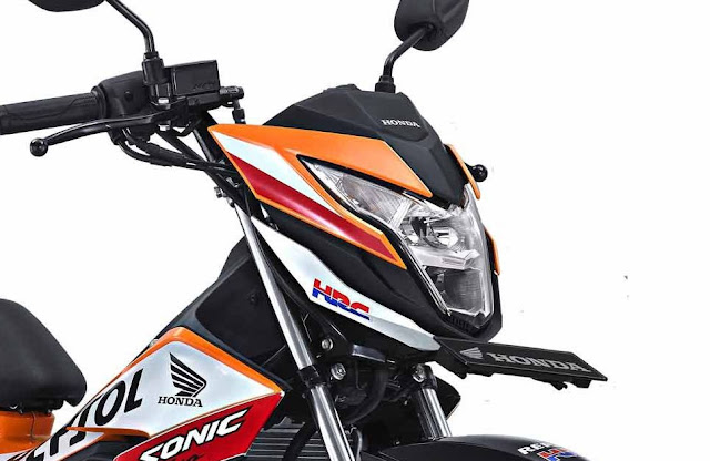 AHM resmi merilis Honda Sonic 150R Repsol Special Edition . . . harga naik sedikit . .