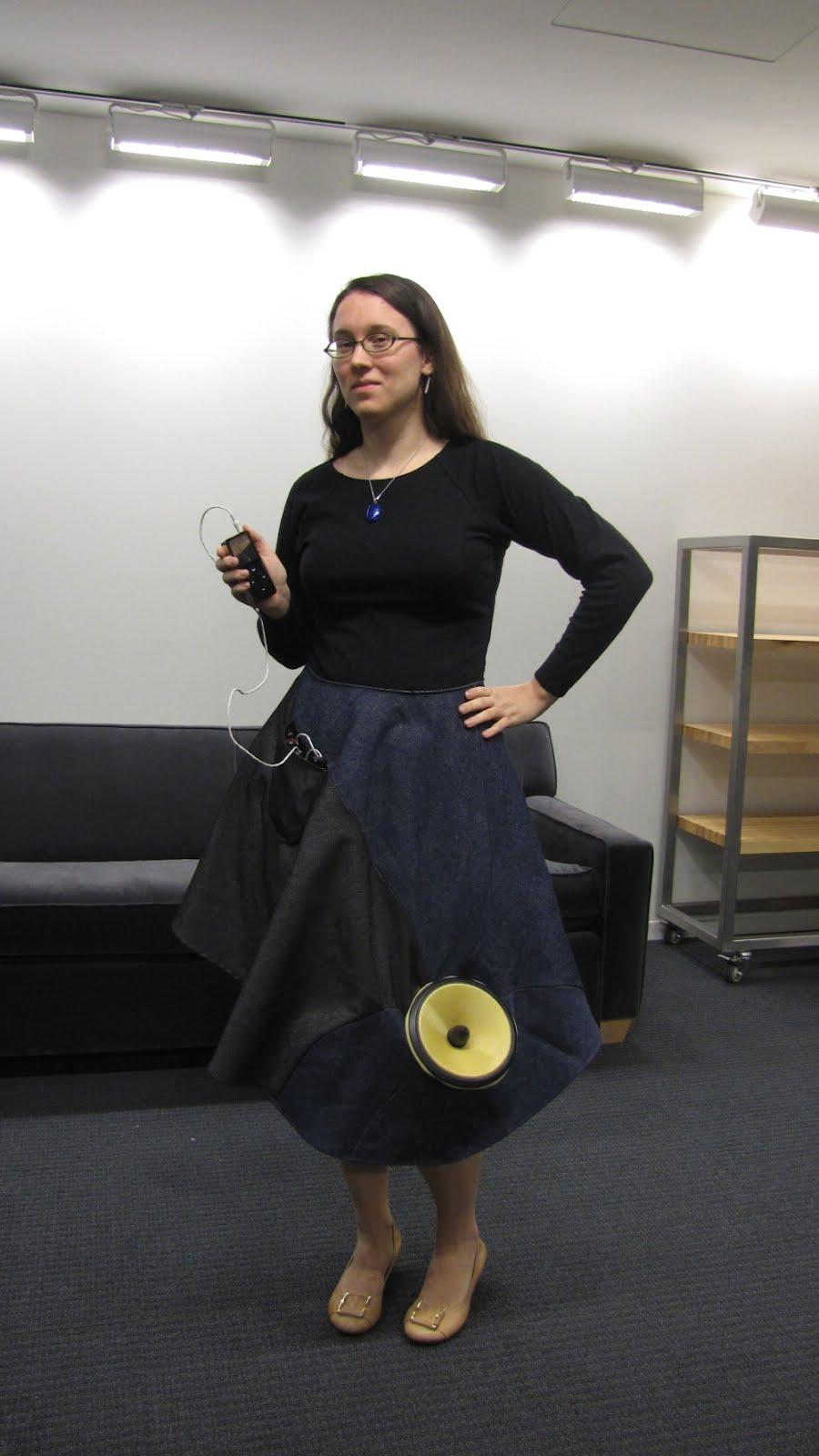 Dress with Speaker